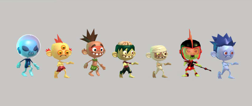 Kid Fury. 3D Models for Unity 3d !  1