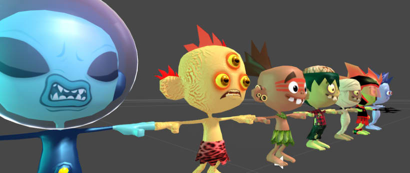 Kid Fury. 3D Models for Unity 3d !  2