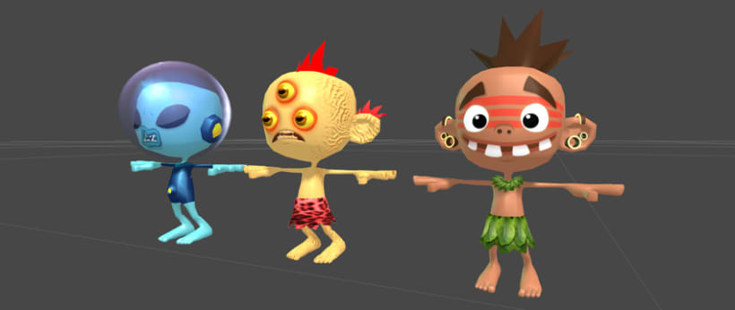Kid Fury. 3D Models for Unity 3d !  3