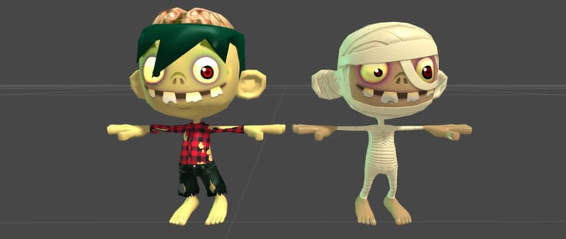 Kid Fury. 3D Models for Unity 3d !  4