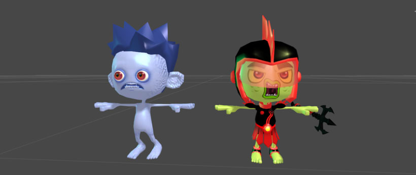 Kid Fury. 3D Models for Unity 3d !  5