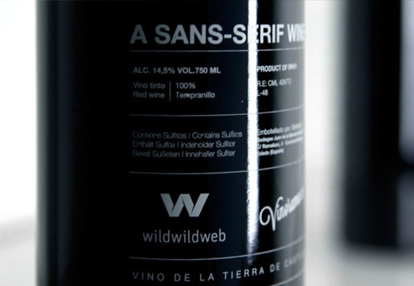 Helvetica Wine 5