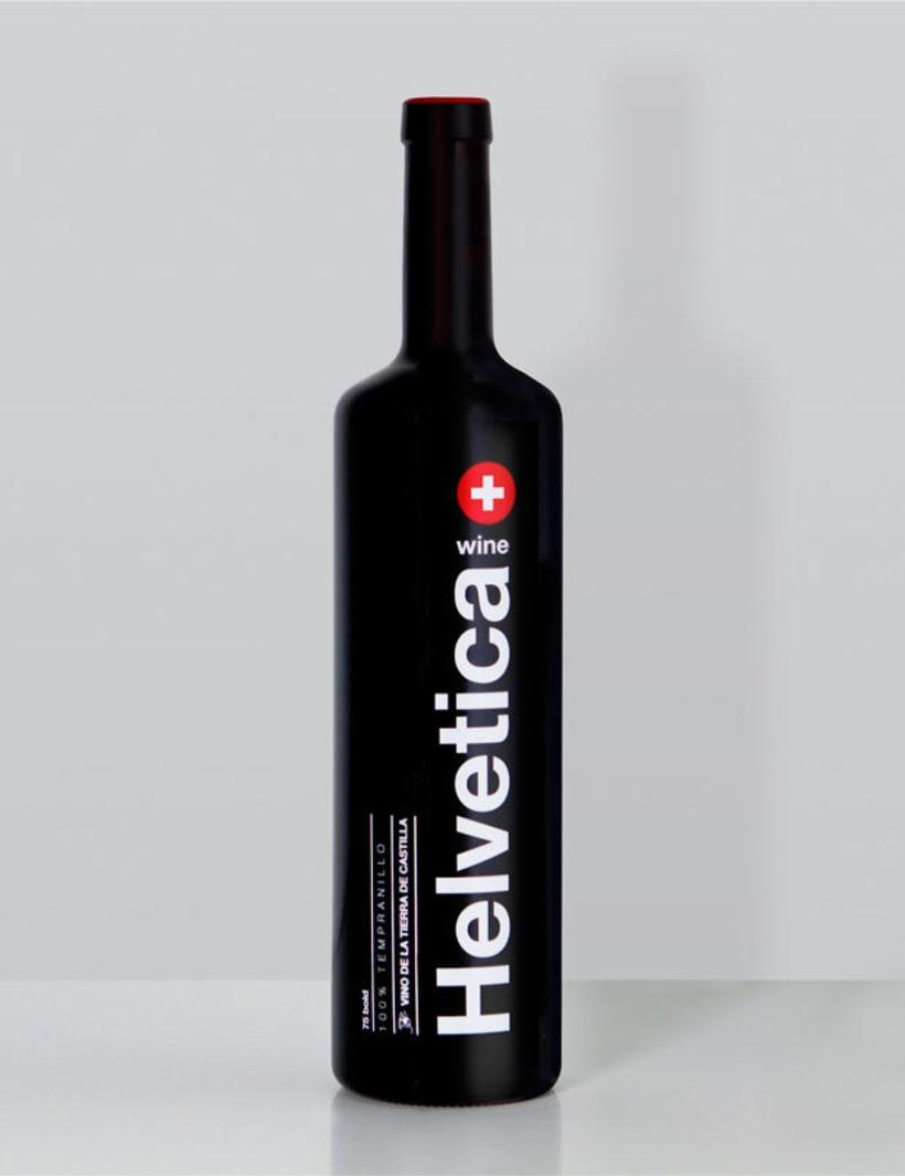 Helvetica Wine 1