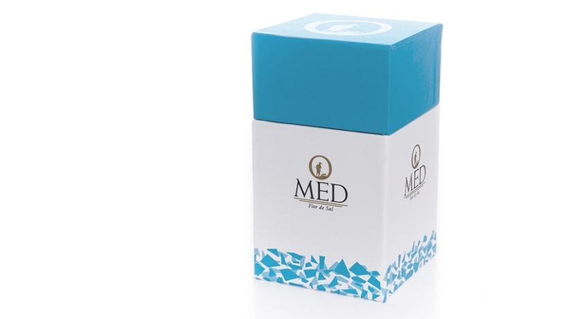 Packaging Omed Flor de Sal 0