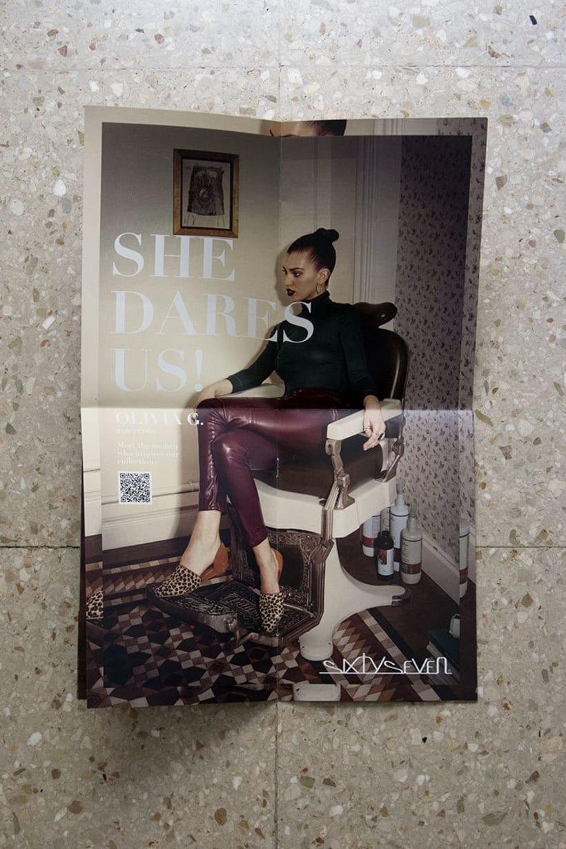 Diseño Editorial / Brand Brochure Sixtyseven 5