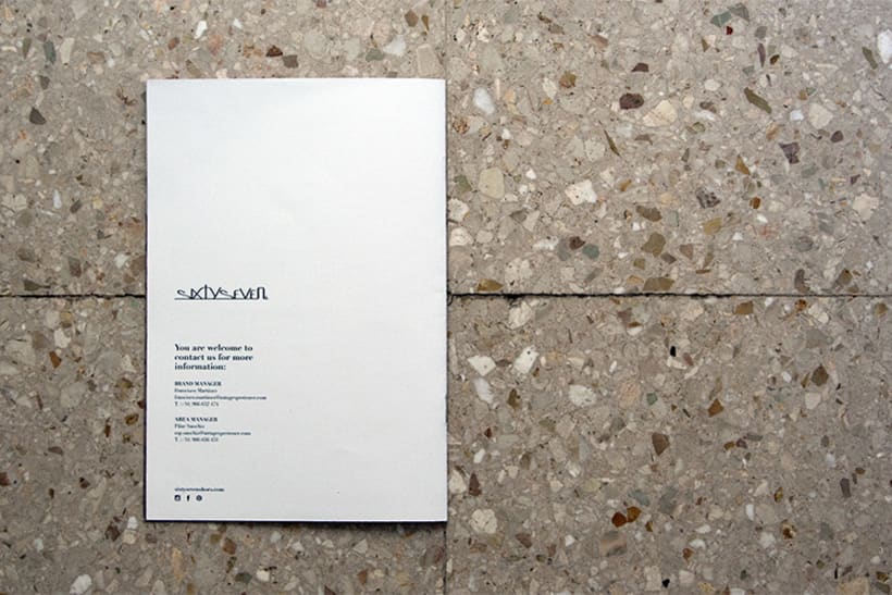 Diseño Editorial / Brand Brochure Sixtyseven 8