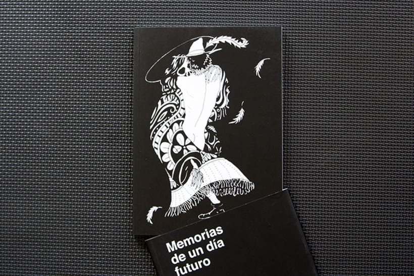 Diseño y maquetación para el libro: Memorias de un día futuro,  de Nelo Curti. 1
