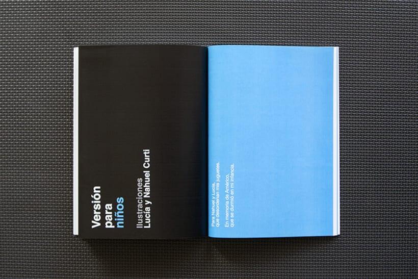 Diseño y maquetación para el libro: Memorias de un día futuro,  de Nelo Curti. 4
