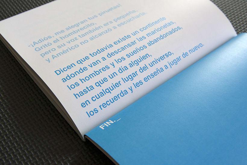 Diseño y maquetación para el libro: Memorias de un día futuro,  de Nelo Curti. 7