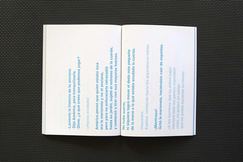 Diseño y maquetación para el libro: Memorias de un día futuro,  de Nelo Curti. 5