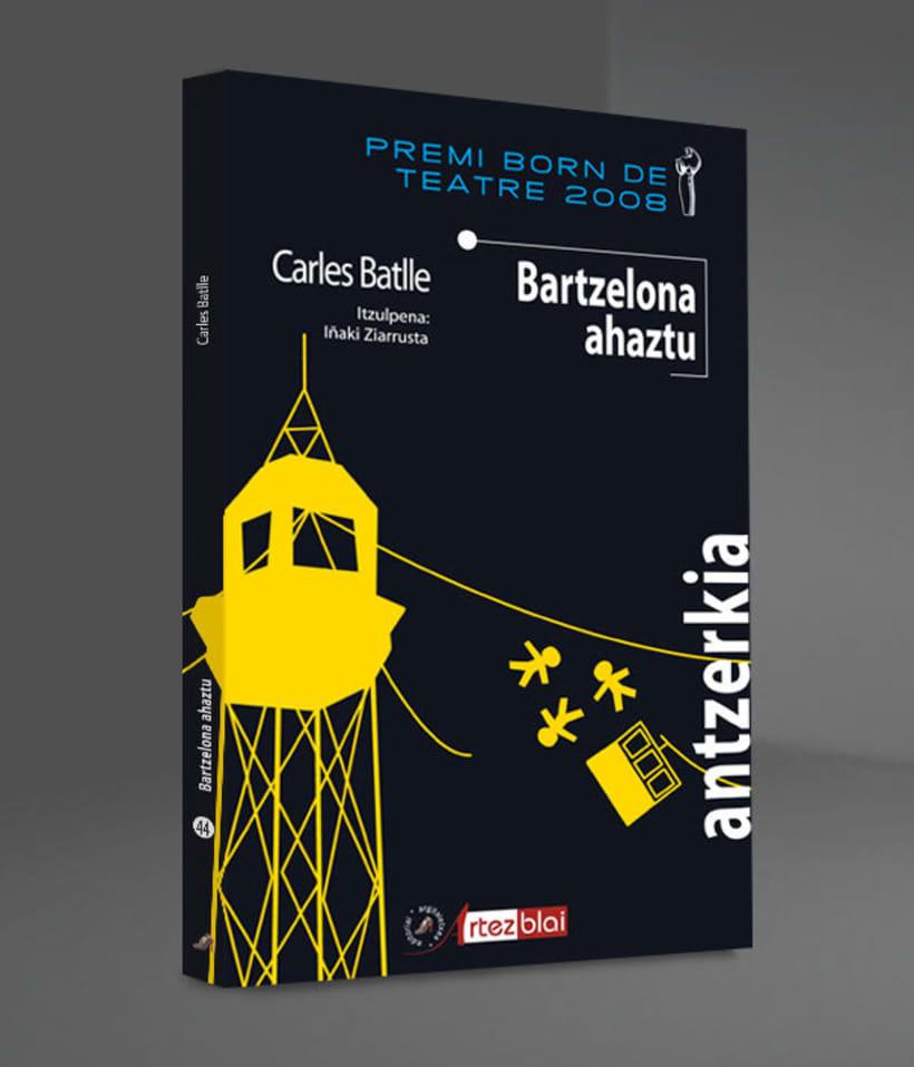 Libro 'Bartzelona ahaztu' 0