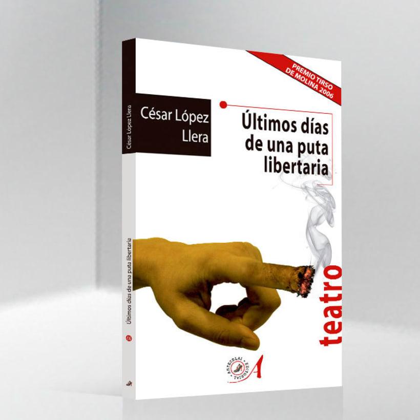 Libro 'Últimos días de una puta libertaria' 0
