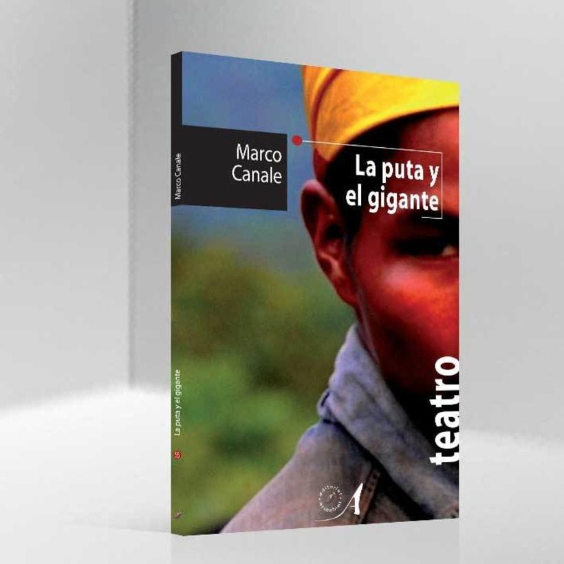 Libro 'La puta y el gigante' 0