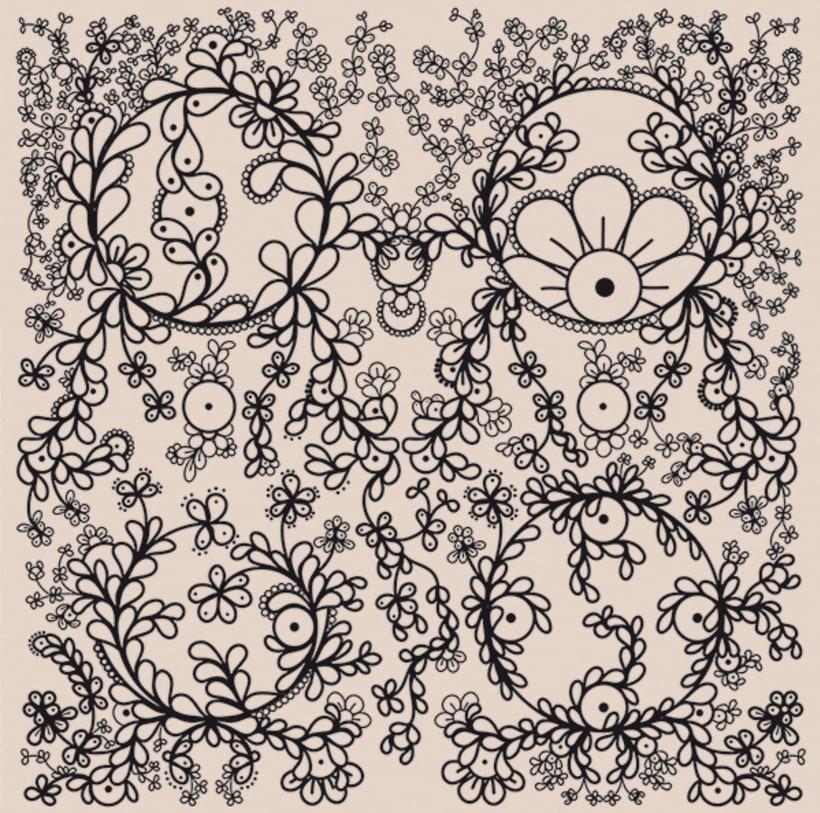 Patterns. Las Flores de Capa. Colección 1 0