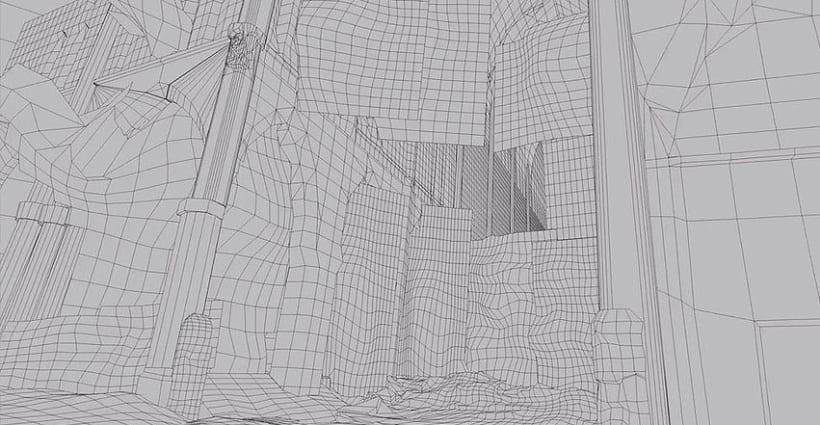 Matte Painting CGI - 3D 4