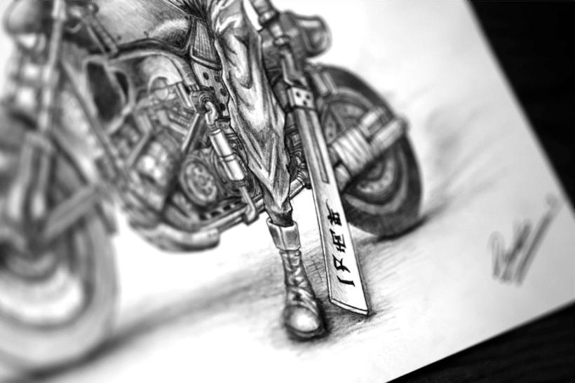 Ilustraciones hechas con técnicas tradicionales 6