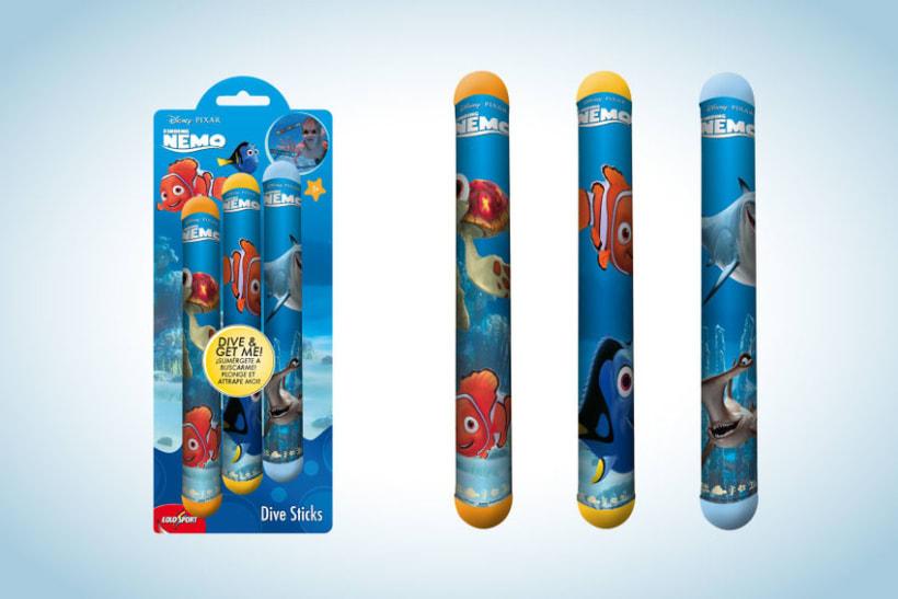 Diseño de artworks y packaging bajo licencias Disney y Marvel 5