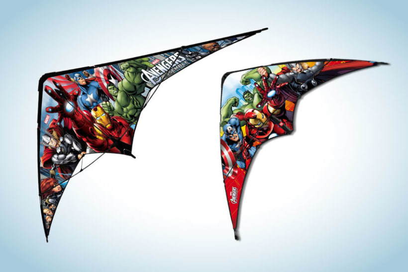 Diseño de artworks y packaging bajo licencias Disney y Marvel 7