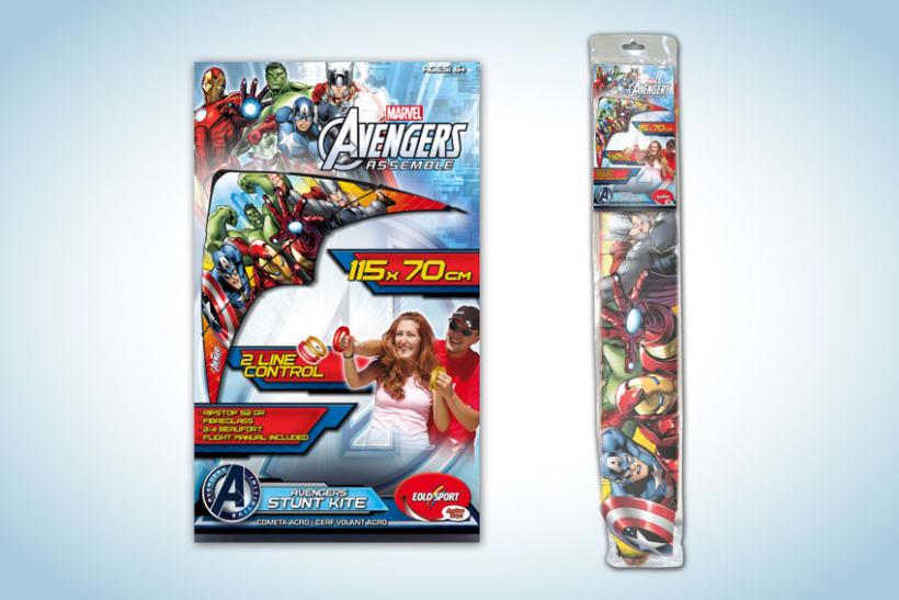 Diseño de artworks y packaging bajo licencias Disney y Marvel 8