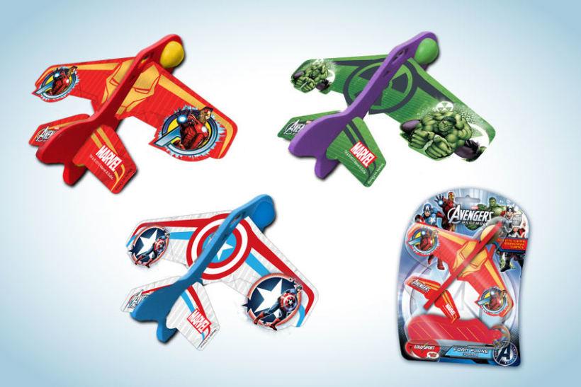Diseño de artworks y packaging bajo licencias Disney y Marvel 10