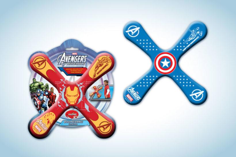 Diseño de artworks y packaging bajo licencias Disney y Marvel 11