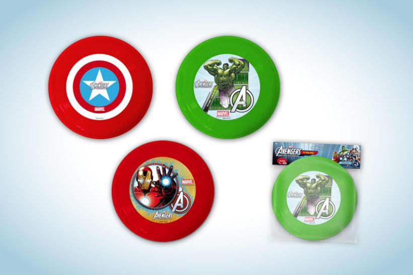 Diseño de artworks y packaging bajo licencias Disney y Marvel 12