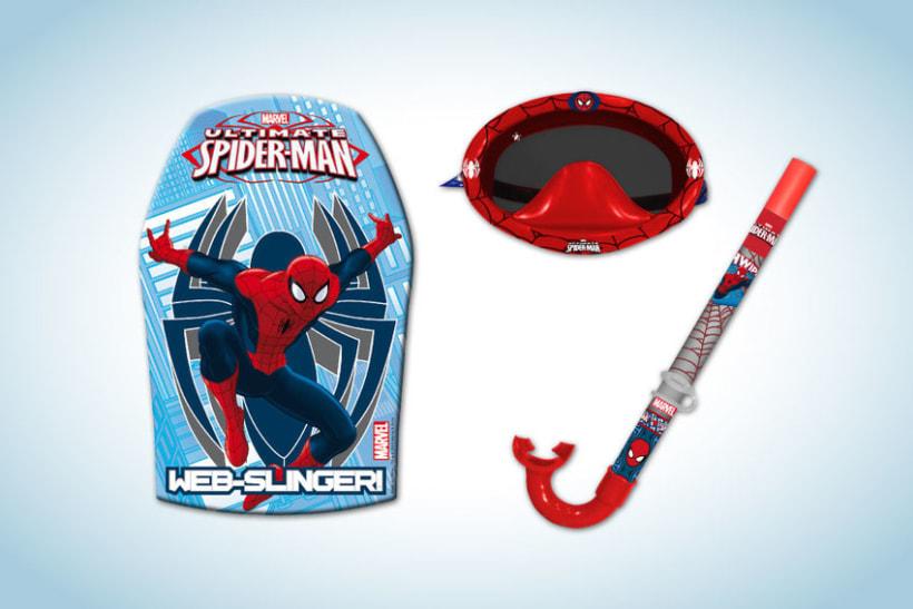 Diseño de artworks y packaging bajo licencias Disney y Marvel 19