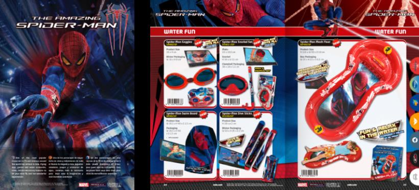 Diseño de catálogos de juguetes y cometas para Eolo-Sport 5