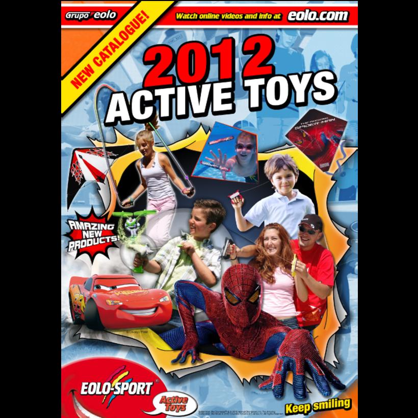 Diseño de catálogos de juguetes y cometas para Eolo-Sport 3