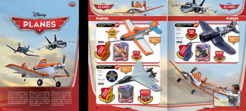 Diseño de catálogos de juguetes y cometas para Eolo-Sport 6