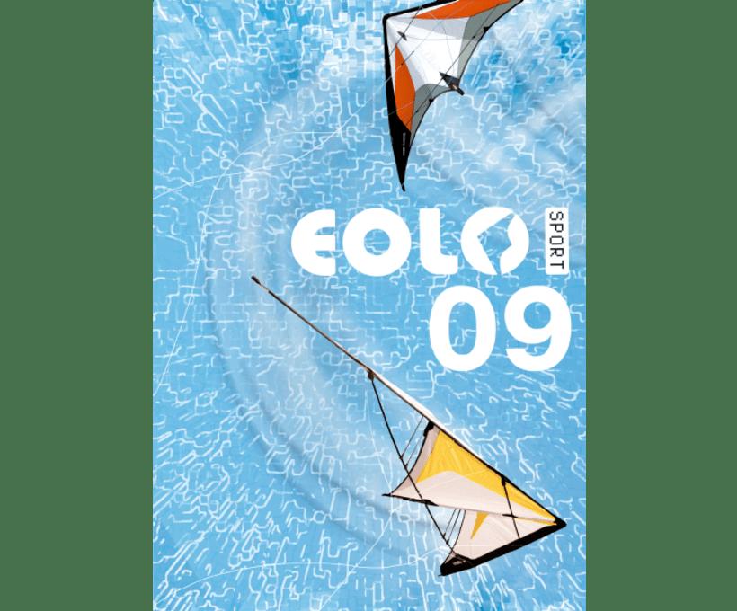 Diseño de catálogos de juguetes y cometas para Eolo-Sport 12