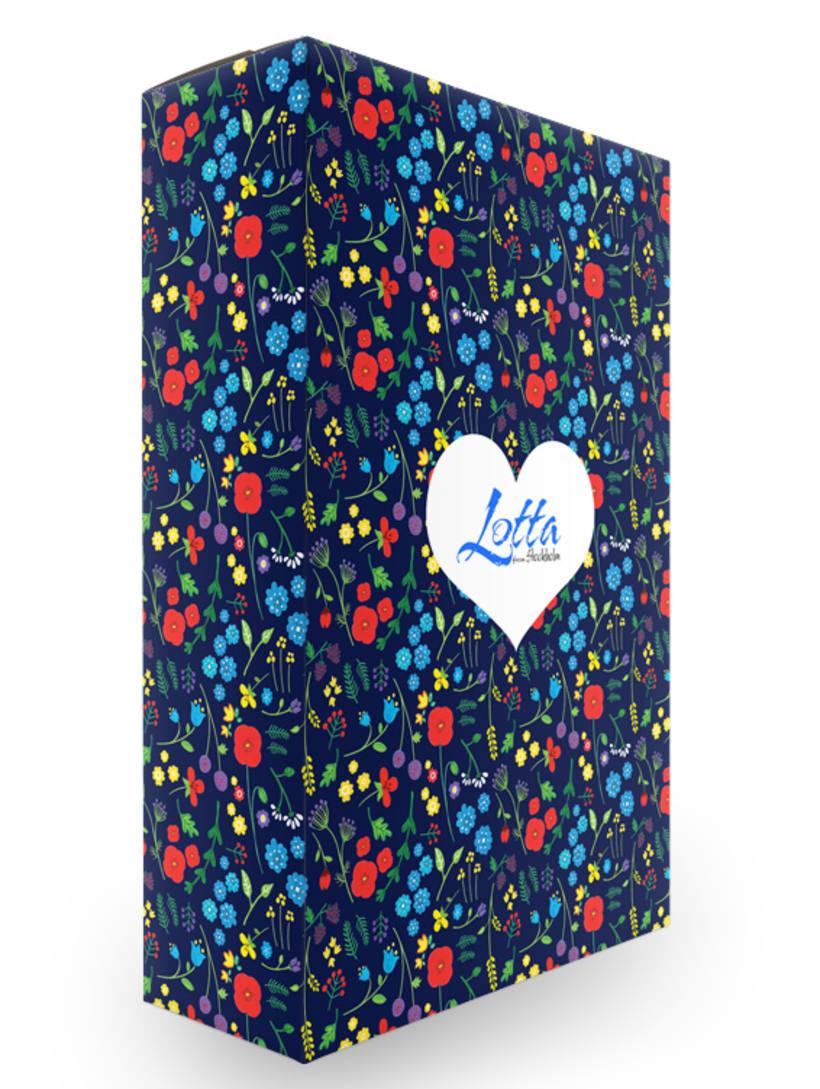 """Packaging para la marca """"Lotta from Stockholm"""" - Proyecto del curso Motivos para repetir  2"""