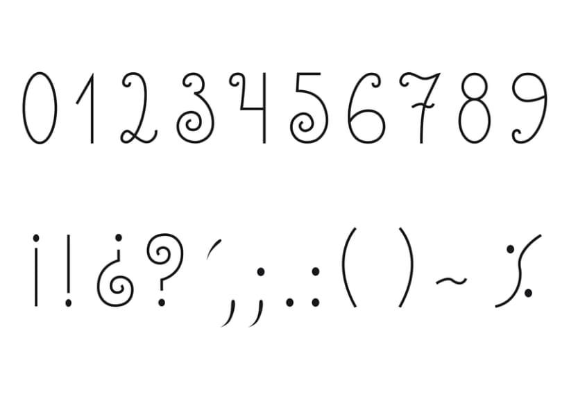 Tipografía Chapulina 8