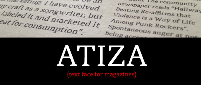 Atiza Typeface 0