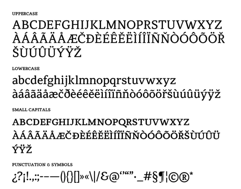 Atiza Typeface 7