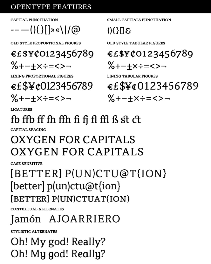 Atiza Typeface 8