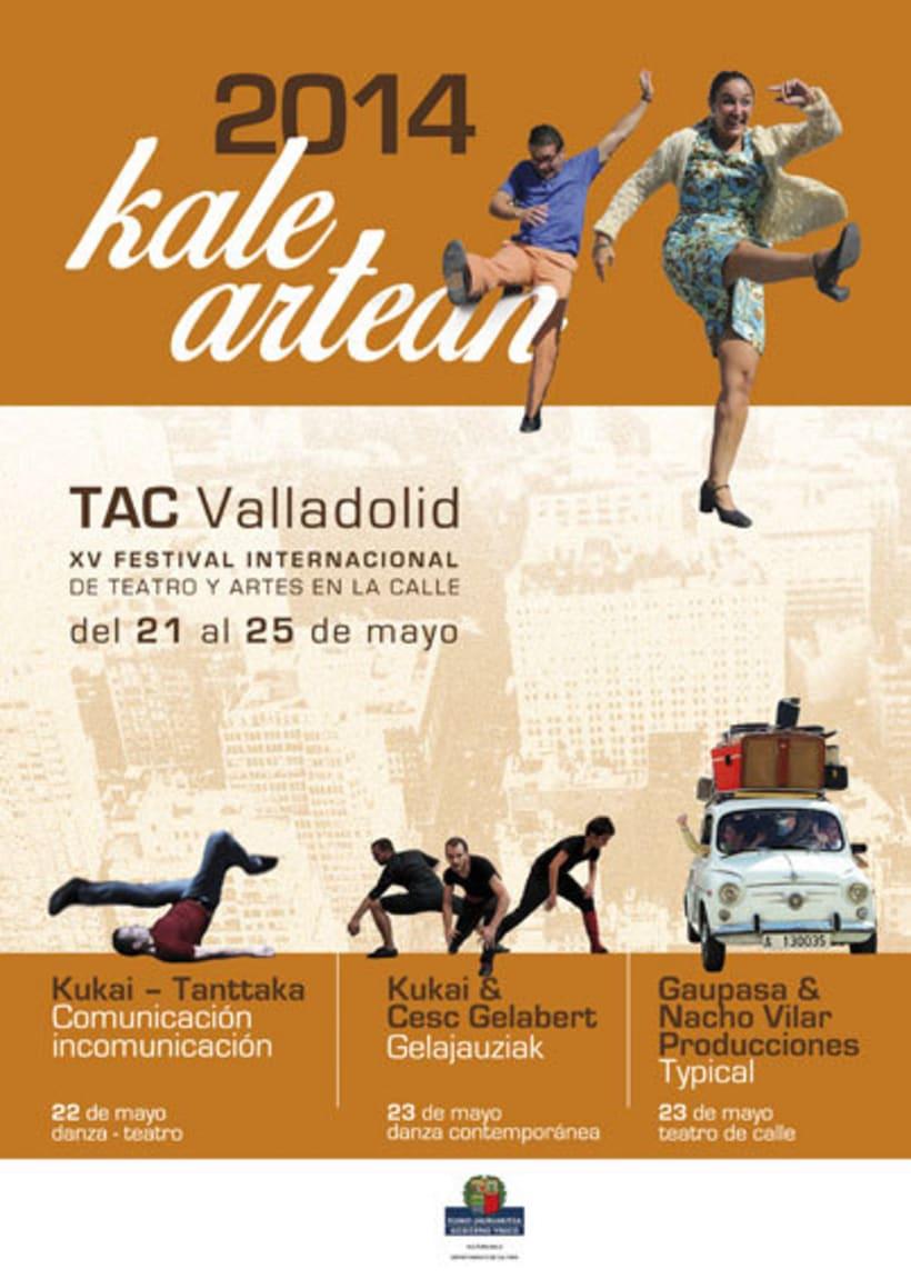 Publicidad Festival TAC Valladolid 0