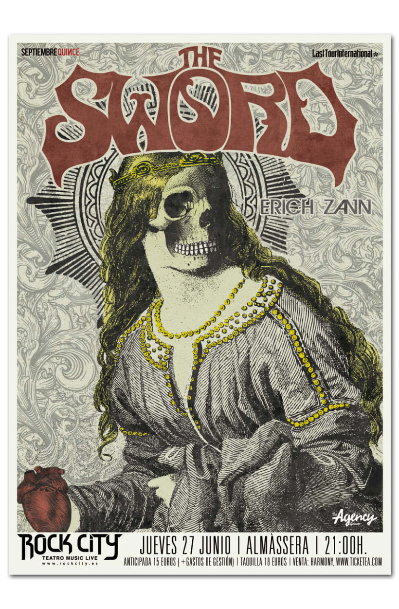THE SWORD | poster & plus 0