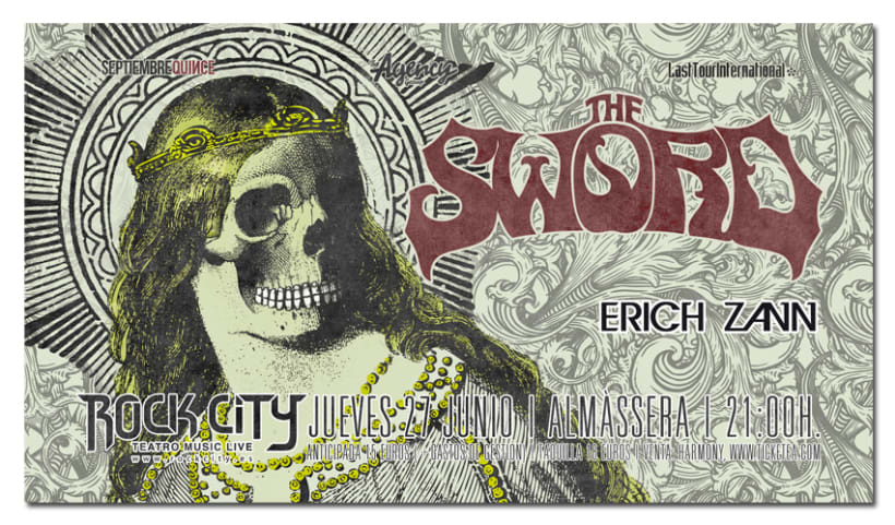 THE SWORD | poster & plus 2