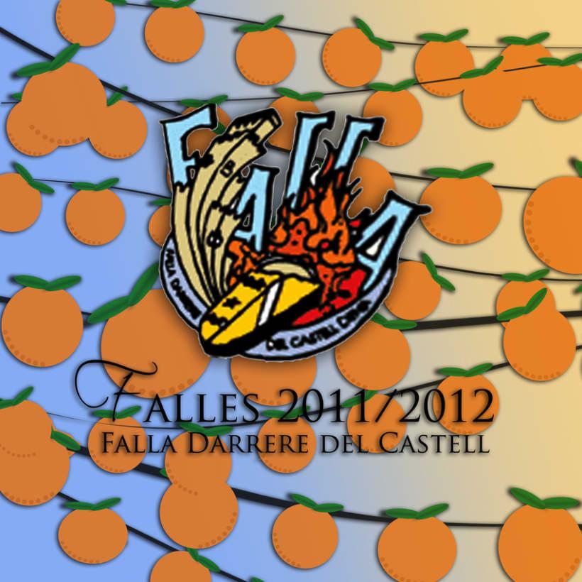 Diseño y maquetación para la Falla Darrere del Castell (Dénia, Alicante) 1