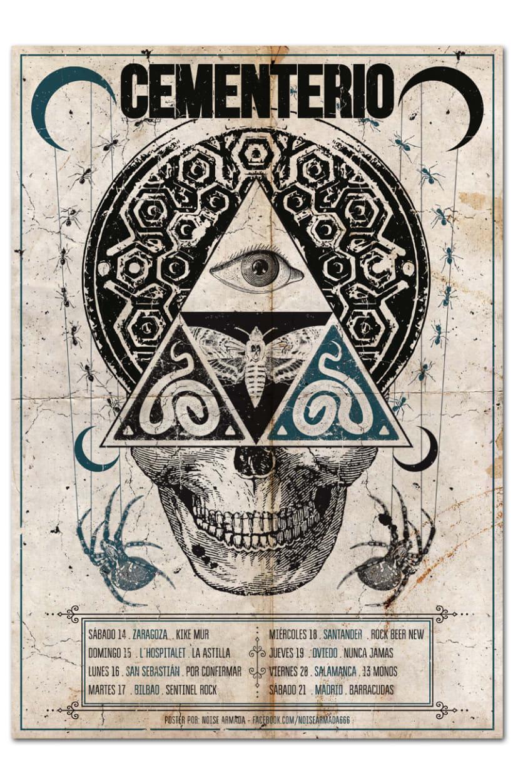 CEMENTERIO | tour poster 0