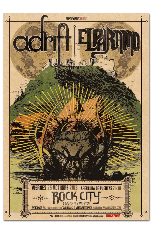 ADRIFT + EL PARAMO | poster & plus 0