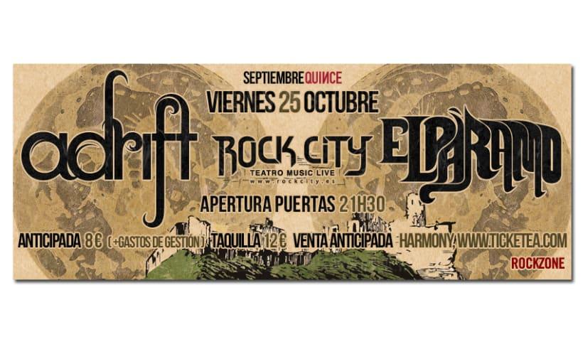 ADRIFT + EL PARAMO | poster & plus 3
