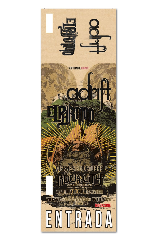 ADRIFT + EL PARAMO | poster & plus 1