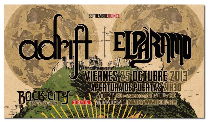 ADRIFT + EL PARAMO | poster & plus 4