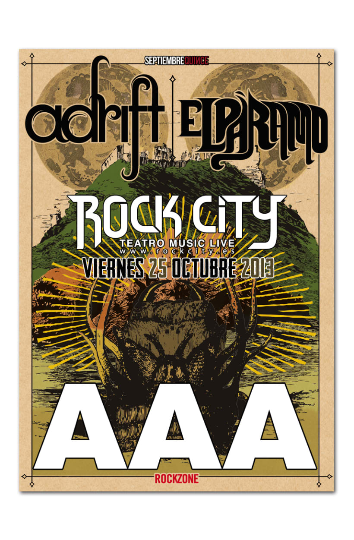 ADRIFT + EL PARAMO | poster & plus 2