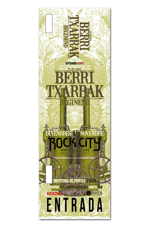 BERRI TXARRAK + BEGINEND | poster & plus 1