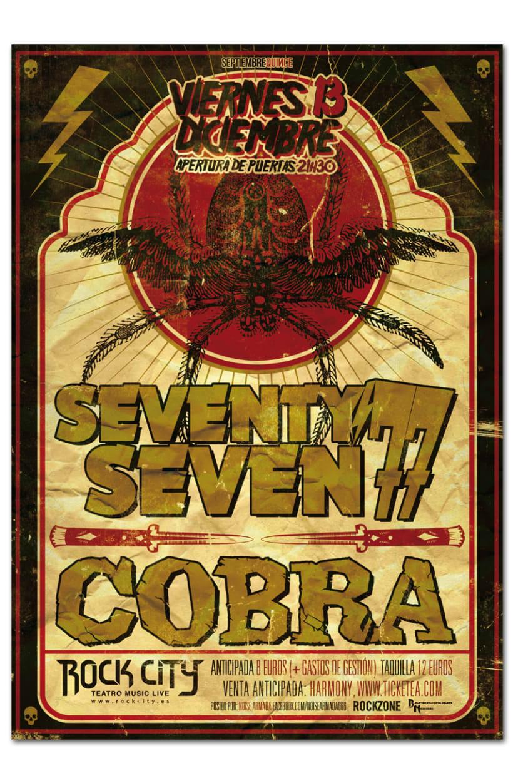 77 + COBRA | poster & plus 0