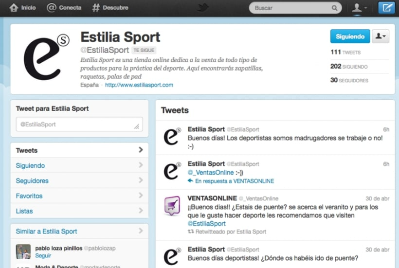 Graphic Design & Community Manager - Estilia Group 3