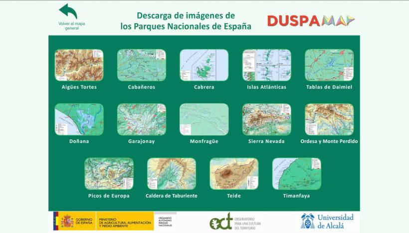 Proyecto DUSPAMAP. Diseño web y de logotipo 9